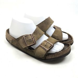 Birkenstock Brown Women's Wide Strap Sz 39 US 9